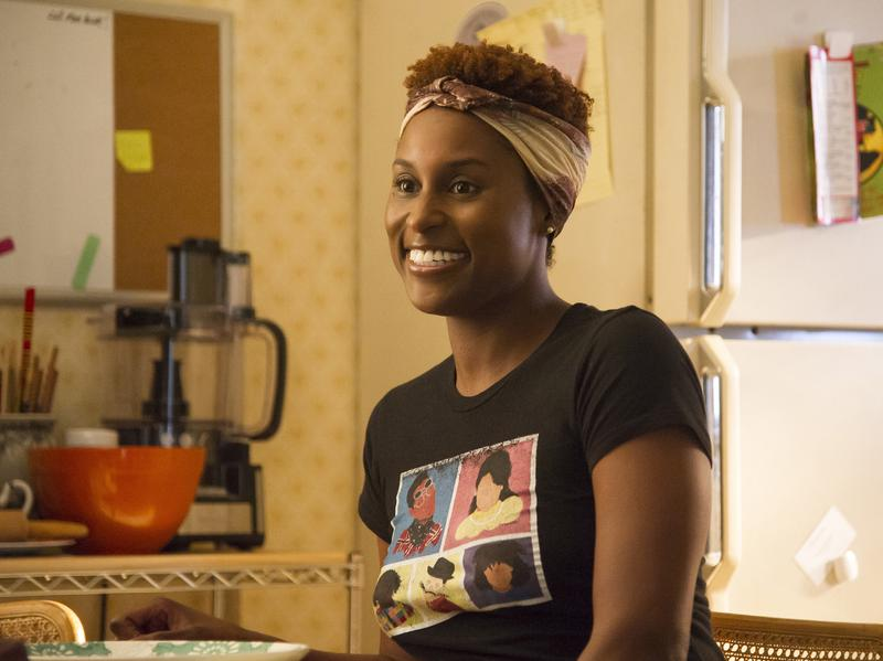 """""""This character is in between two worlds and is just in a constant state of discomfort,"""" Issa Rae says of Issa Dee, her character on HBO's <em>Insecure</em>."""