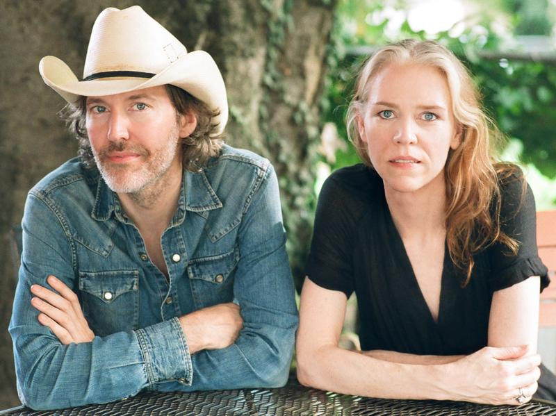 Gillian Welch, pictured here with partner Dave Rawlings, will release a new album, <em>Boots No. 1 The Official Revival Bootleg,</em> on Nov. 25.