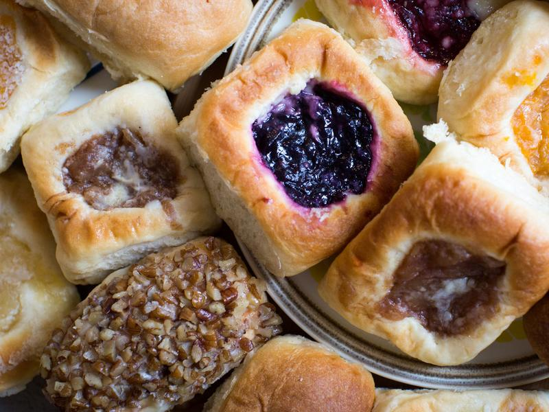 Big companies, like The Kolache Factory, which is headquartered in Texas, have started to build franchises in other states.