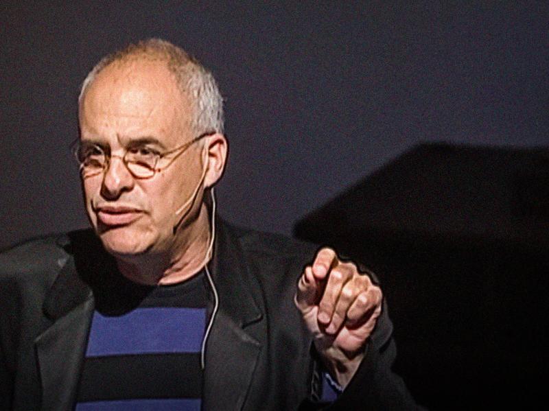 Food writer Mark Bittman speaking at TED.