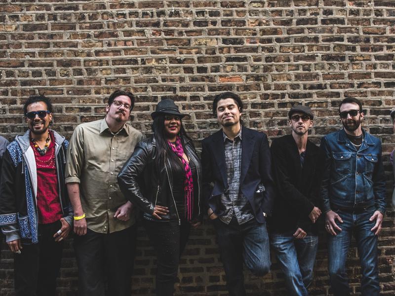 Chicago's ¡ESSO! Afrojam Funkbeat plays Afro-Latin-inspired dance music.