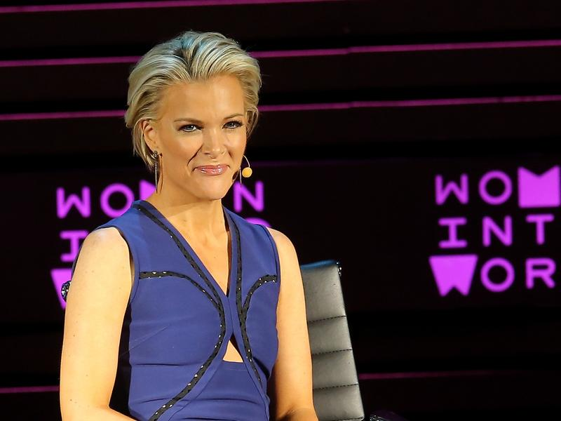 Megyn Kelly speaks onstage at Tina Brown's 7th Annual Women In The World Summit Opening Night on April 6, in New York City.