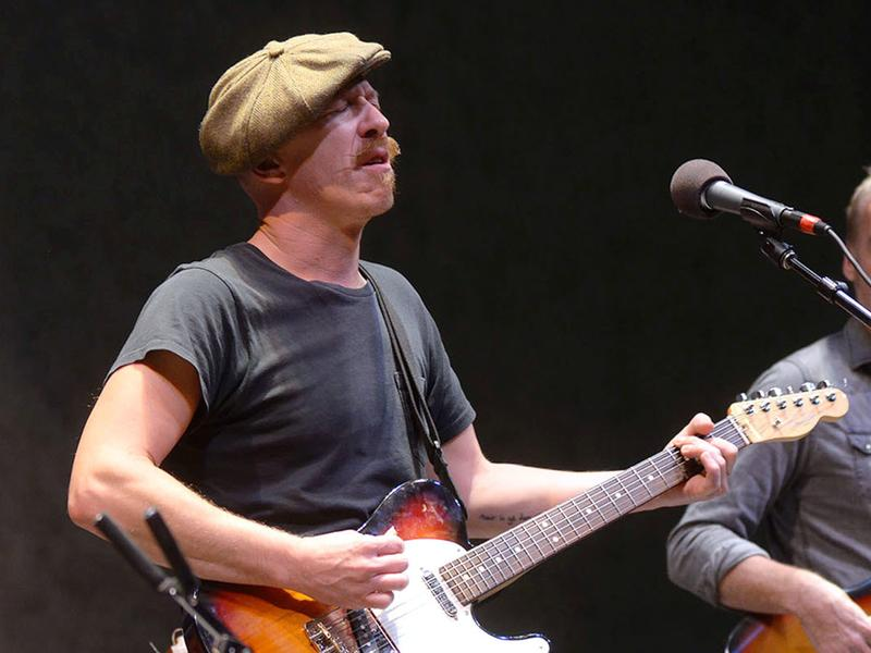 Foy Vance performs live for <em>Mountain Stage</em> in Charleston, W.Va.'s Clay Center.