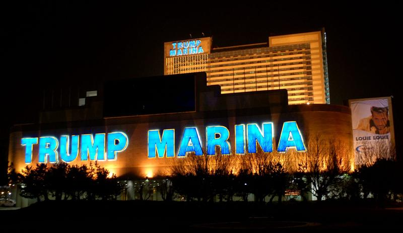 Trump Marina is one of the Trump properties that may potentially be sold March 14, 2007 in Atlantic City, New Jersey. (William Thomas Cain/Getty Images)
