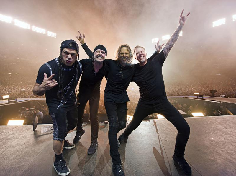 Metallica's new album, <em>Hardwired...To Self-Destruct, </em>is out now.
