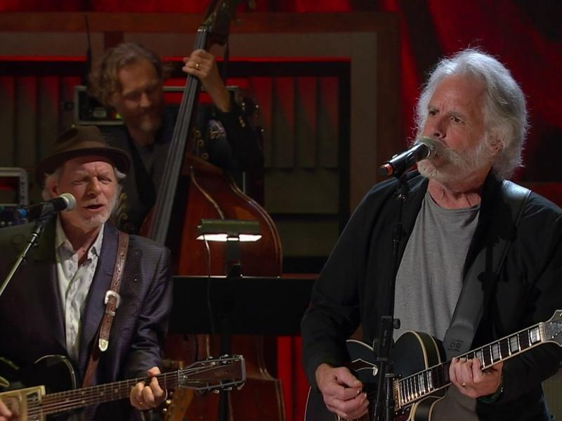 Bob Weir performing at the AmericanaFest Awards.