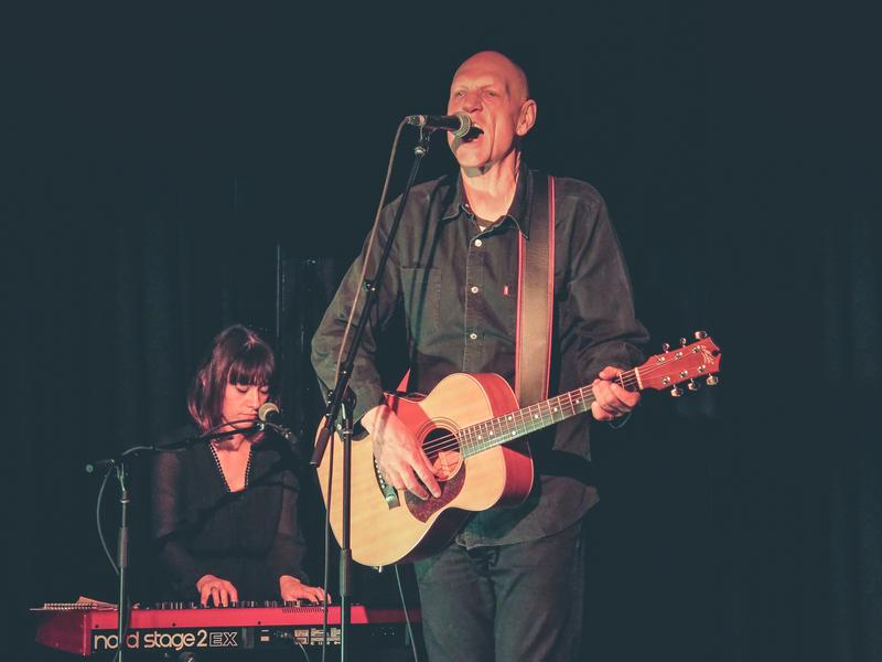 Peter Garrett performs live at The Oxford Circus in Sydney, Australia.