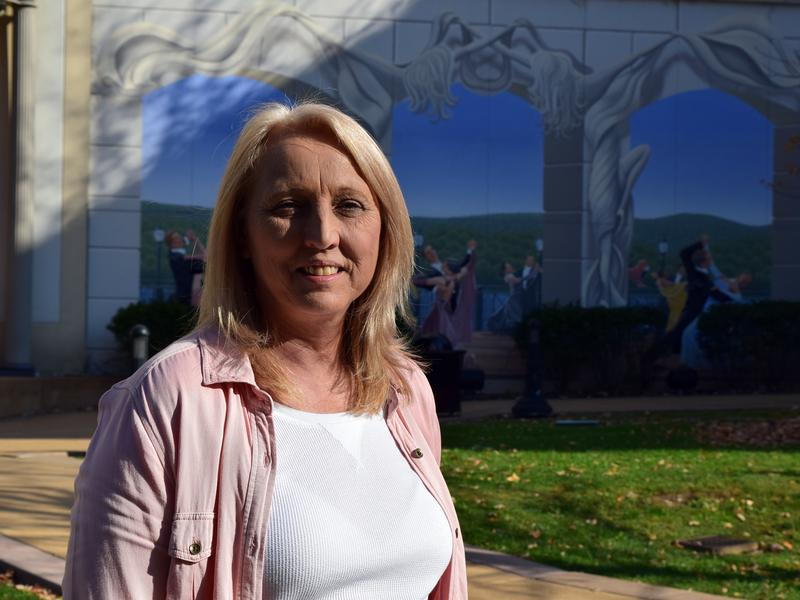 Tina Allen is one of many life-long Democrats in Fayette County who crossed the aisle to vote for Donald Trump. The wife of a coal miner, Allen hopes Trump keeps his campaign promises to help the coal industry.
