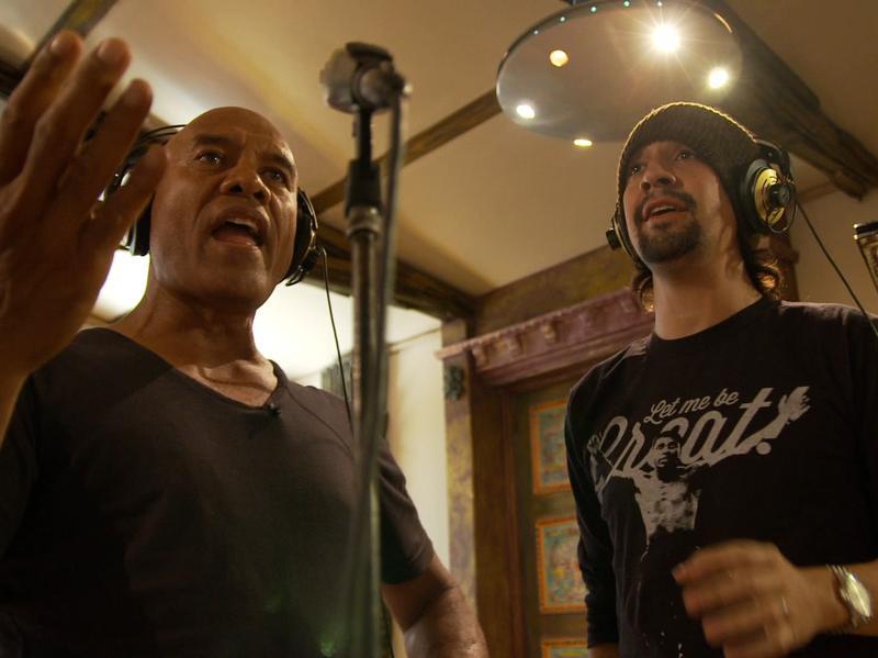 Opetaia Foa'i and Lin-Manuel Miranda are two of the architects of the <em>Moana </em>soundtrack.