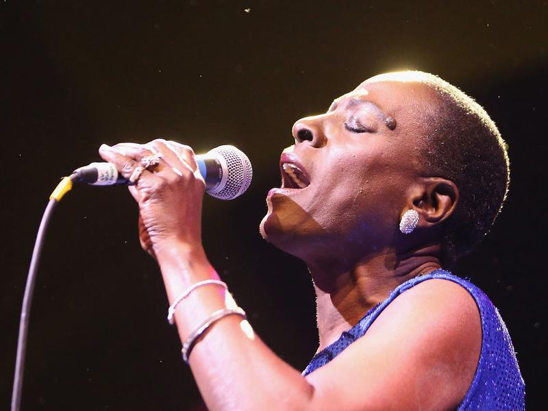 Sharon Jones and The Dap-Kings perform at opening night of Celebrate Brooklyn! in New York City on June 8.