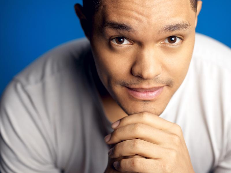 <em>Daily Show</em> host Trevor Noah was born in South Africa and speaks six languages.