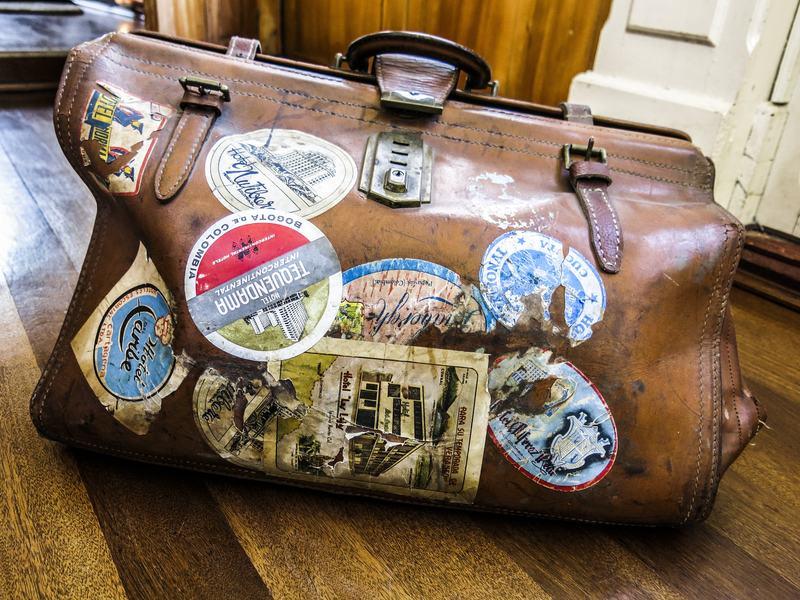 Ecuadorian musician Daniel Lofredo Rota discovered a treasure trove of lost recording sessions in boxes and in this bag.