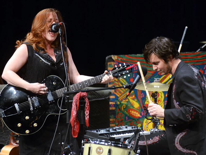 Shovels & Rope performs live for <em>Mountain Stage</em> in Charleston, W.Va.
