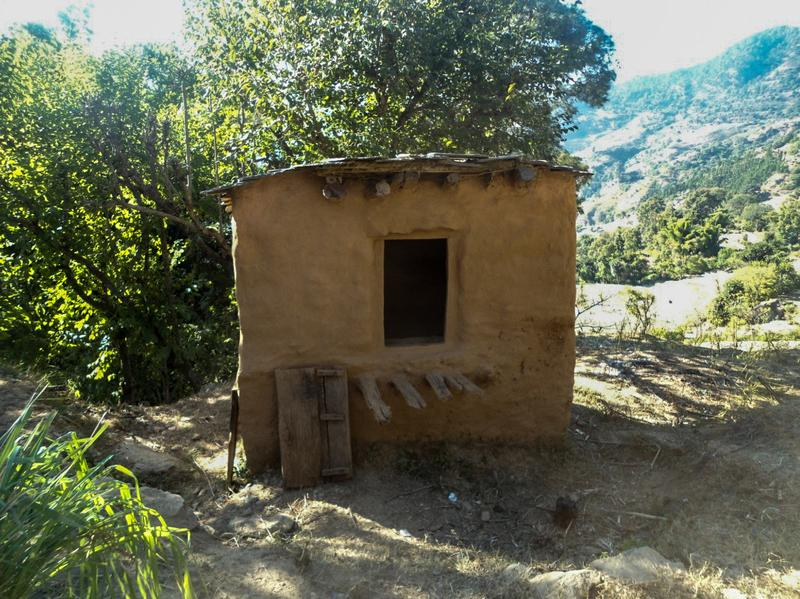Dambara Upadhyay died alone inside this shelter. She was following the practice of menstrual exclusion that is common in parts of western Nepal: sleeping outside the home during menstruation.