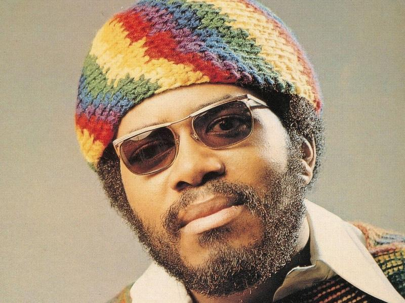 Lonnie Liston Smith on the cover of <em>Astral Traveling</em> (1973).