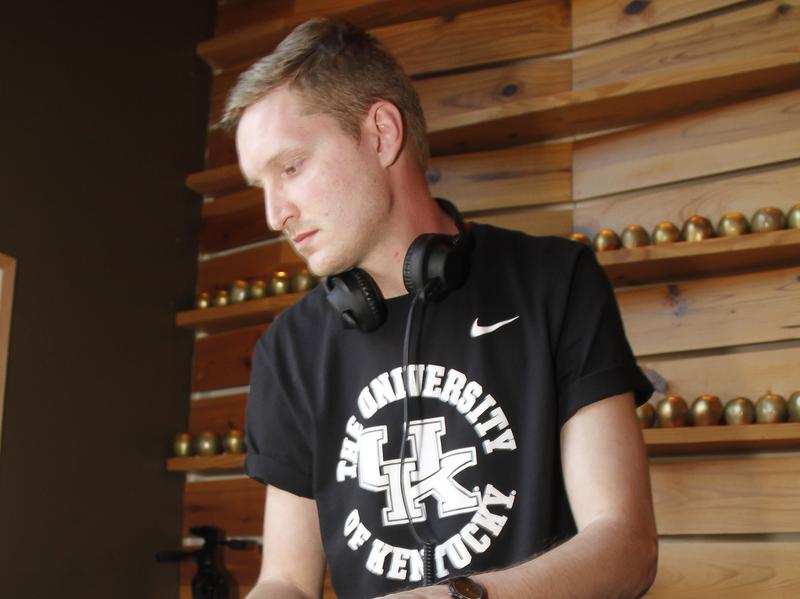 This week's guest DJ, Amtrac, performing at a charitable auction to benefit Music Cares in Austin, Texas in 2014.