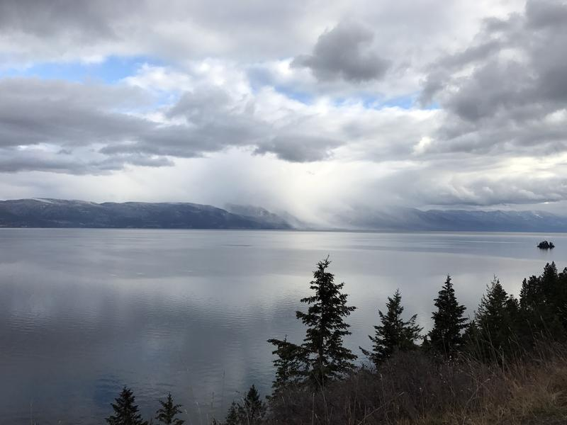 Flathead Lake in Montana's Flathead Valley is fed by the glaciers in Glacier National Park. Here in rural northwest Montana, there is postelection unease in some communities about far-right extremist views entering the mainstream.
