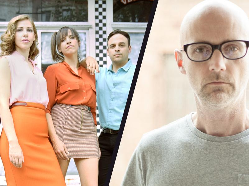 Whether you go for the throwback sounds of Lake Street Dive (left) or the high-tech electronica of Moby (right), 2016 had plenty to offer.