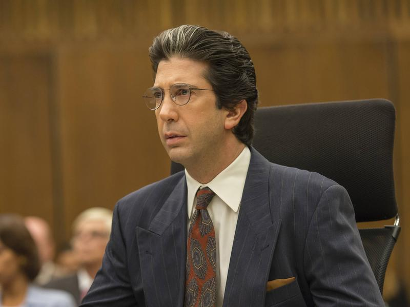 David Schwimmer as Robert Kardashian in <em>American Crime Story: The People vs. O.J. Simpson.</em>