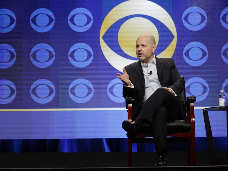 CBS Entertainment President Glenn Geller addresses the executive session of the TCA presentations in Los Angeles on Aug. 10.