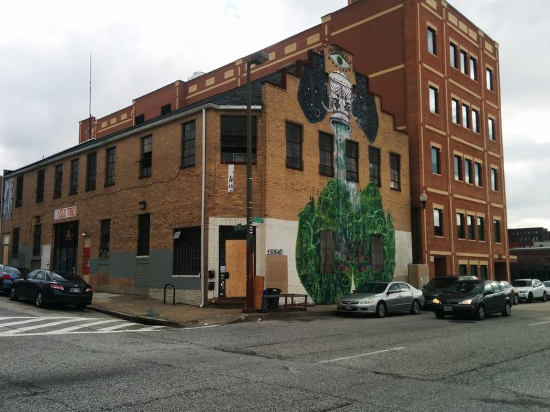 The Bell Foundry building is located in Baltimore's Station North neighborhood.