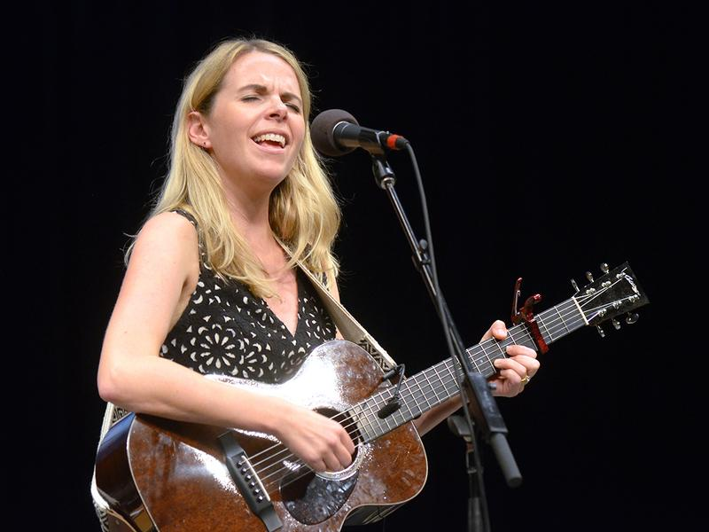 Aoife O'Donovan performs live for <em>Mountain Stage</em> in Charleston, W.Va.