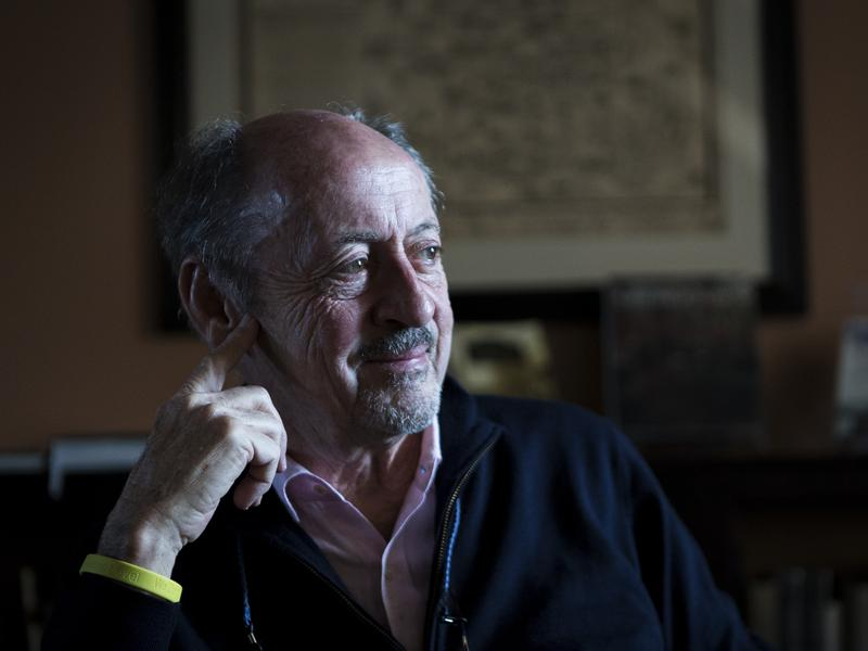 Poet Billy Collins sat down with NPR at the Georgetown Public Library in Washington, D.C., to read and discuss his work.