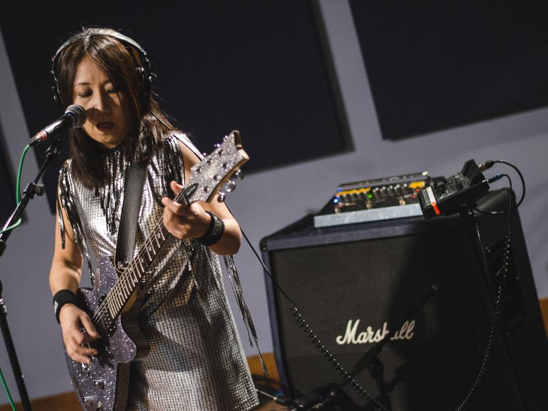 Shonen Knife performs live in the <em>World Cafe</em> studio on the heels of its 35th anniversary.