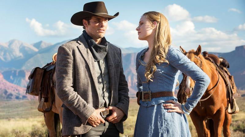 """A still frame from the HBO series """"Westworld."""" (Courtesy HBO)"""