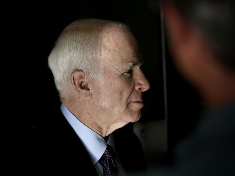 Sen. John McCain, R-Ariz., in Phoenix.