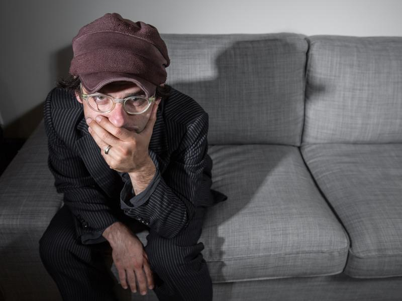 Alec Ounsworth, frontman for Clap Your Hands Say Yeah