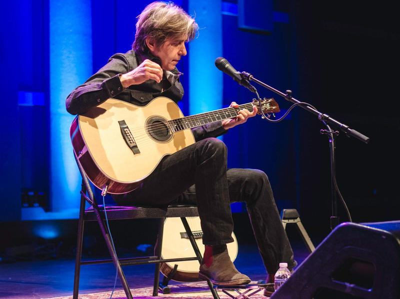 Eric Johnson performs live at World Cafe Live in Philadelphia.