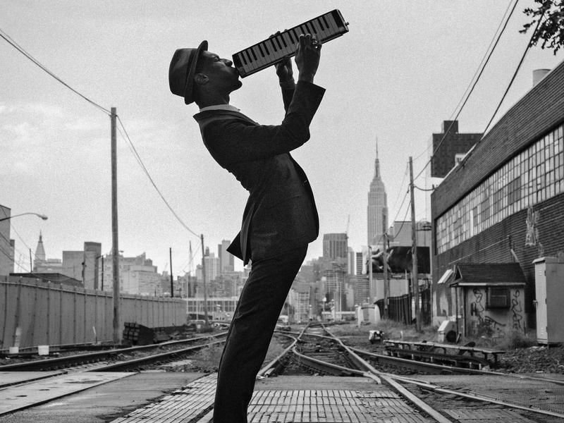 "Jon Batiste carries his melodica with him pretty much all the time. ""I always have it,"" he says. ""It's kind of like my murse — a man purse."""