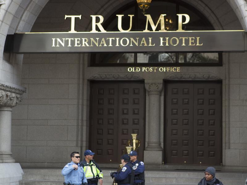 President-elect Donald Trump's organization holds the lease on, and has opened a hotel in, a prominent building in Washington, D.C., one of many business interests that could lead to conflicts with his role as president.