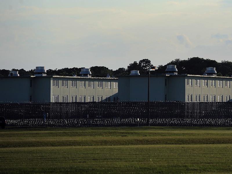The Florida State Prison, pictured in June 2014, in Raiford, Fla.