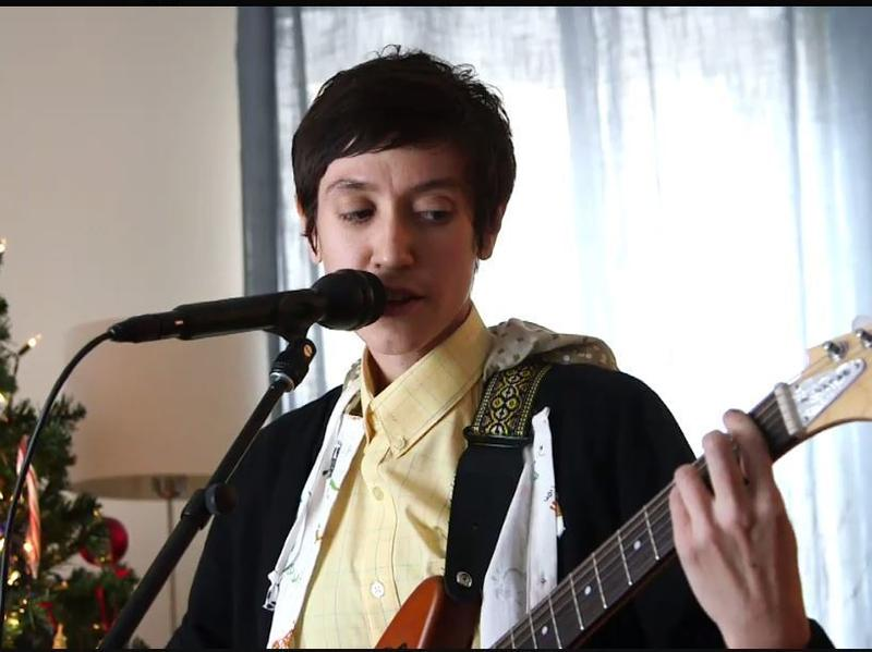 Eskimeaux performs live in Lars Gotrich's Washington, D.C., living room.
