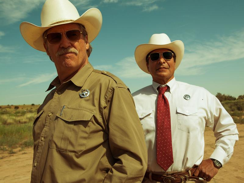 They'll Have The T-Bone: Jeff Bridges and Gil Birmingham star in <em>Hell or High Water</em>.