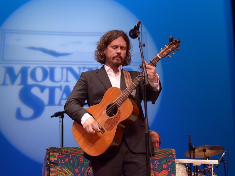 John Paul White performs live for <em>Mountain Stage</em> in Charleston, W.Va.