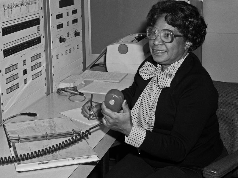 """According to NASA, Mary Jackson """"may have been the only black female aeronautical engineer in the field"""" in the 1950s. Singer and actress Janelle Monáe plays her in the film <em>Hidden Figures</em>."""