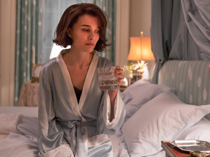 <em>Jackie</em> depicts the former first lady (played by Natalie Portman) in the days after her husband's assassination.