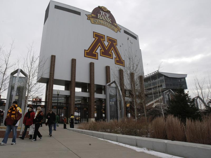 The University of Minnesota's football team had refused to take part in any preparations for their upcoming bowl game, after 10 players were suspended. The school's stadium is seen here in a 2012 file photo.