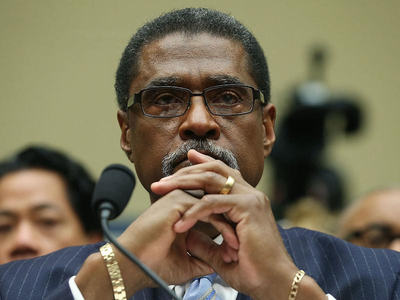 Darnell Earley, former emergency manager of Flint, Mich., at a House Oversight and Government Reform Committee hearing in March.