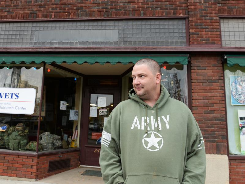 Dave Robertson found lifesaving support at the VETS Peer to Peer Outreach Center in Watertown, N.Y.