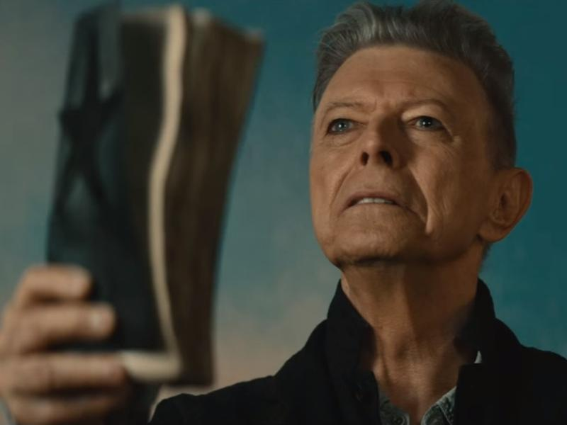 """NPR Music critic Ann Powers says David Bowie's <em>Blackstar</em> """"carries us into the next realm but at the same time violently engages with the struggle to live and to die."""""""