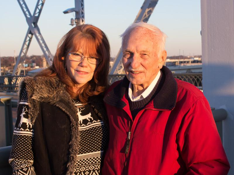 Judy Charest and Harold Hogue recounted the story of their fateful meeting for StoryCorps in Nashville, Tenn.