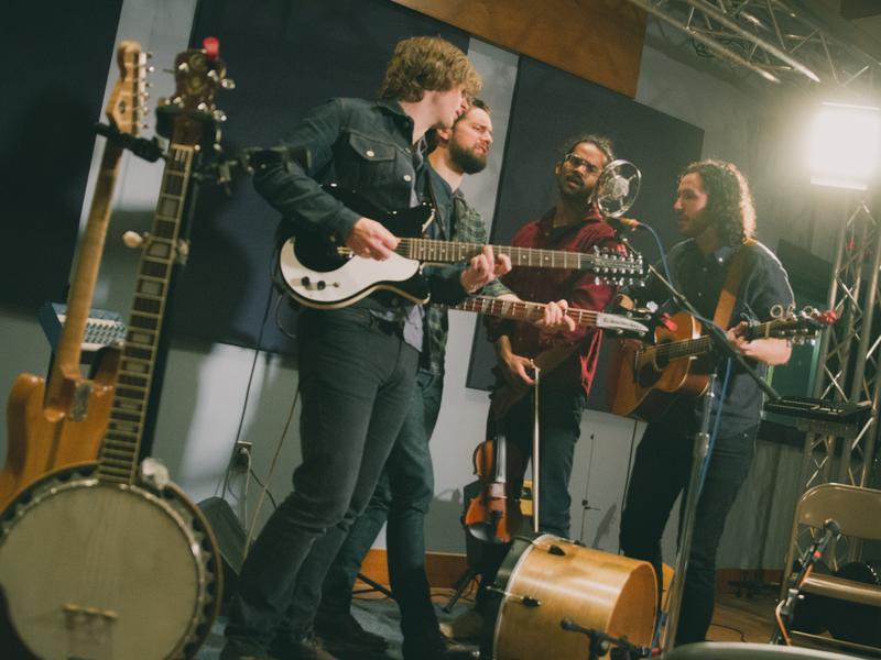 Darlingside performs live in <em>World Cafe</em>'s studio in Philadelphia.