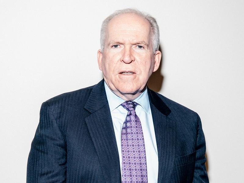 CIA Director John Brennan at CIA Headquarters on Thursday.