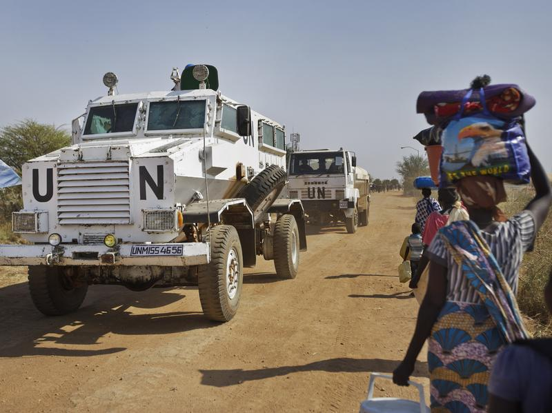 The arms embargo and sanctions fell short of the nine votes needed for adoption Friday. Ethnic violence and clashes have killed tens of thousands in the South Sudan and forced millions to flee from their homes.