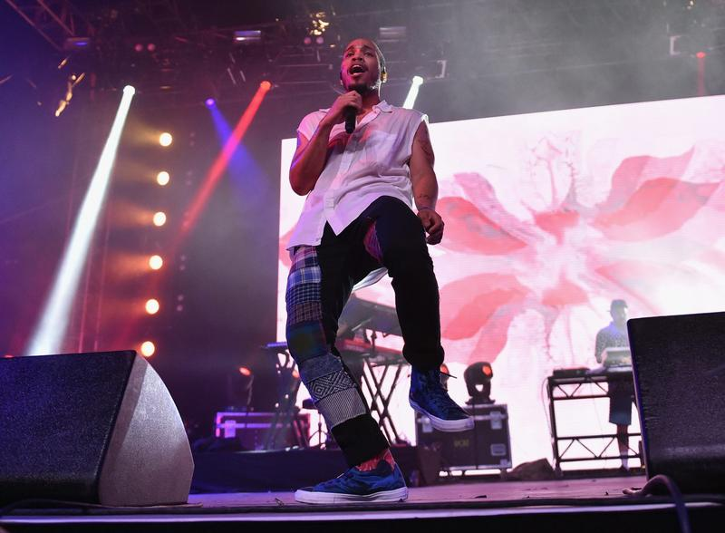 Anderson .Paak performs onstage at the 2016 Coachella Valley Music And Arts Festival Weekend in April 2016 in Indio, Calif. (Mike Windle/Getty Images for Coachella)