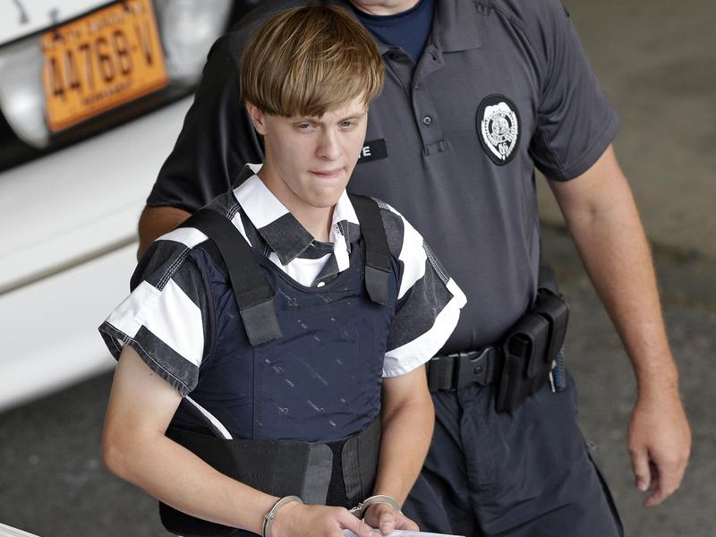 Convicted Charleston church shooter Dylann Roof told a federal judge Wednesday that he will not present evidence or witnesses in the penalty phase of his trial. Roof (pictured in 2015) faces the death penalty.